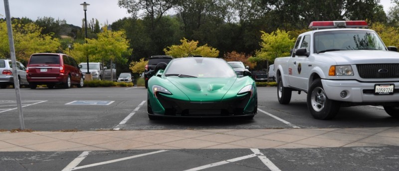 Car-Revs-Daily.com Green 2014 McLaren P1 6