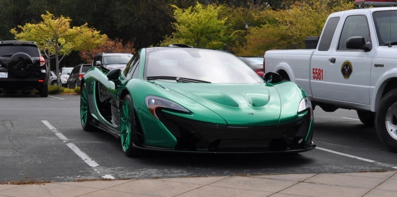 Car-Revs-Daily.com Green 2014 McLaren P1 8