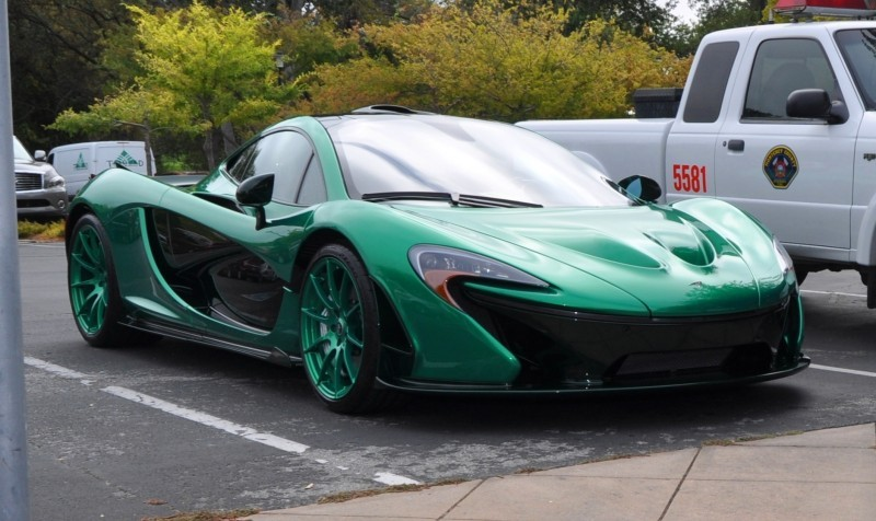 Car-Revs-Daily.com Green 2014 McLaren P1 9