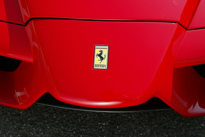Car-Revs-Daily.com Hypercar Hall of Fame - 2003 Enzo Ferrari in 77 Original Maranello Launch Photos 1