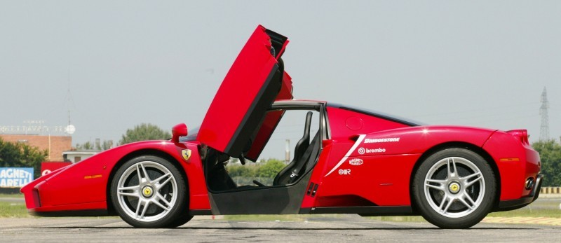 Car-Revs-Daily.com Hypercar Hall of Fame - 2003 Enzo Ferrari in 77 Original Maranello Launch Photos 10