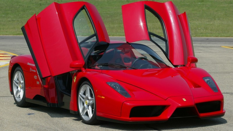 Car-Revs-Daily.com Hypercar Hall of Fame - 2003 Enzo Ferrari in 77 Original Maranello Launch Photos 11