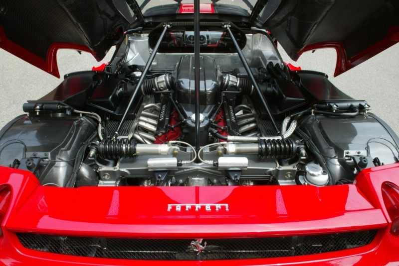 Car-Revs-Daily.com Hypercar Hall of Fame - 2003 Enzo Ferrari in 77 Original Maranello Launch Photos 19