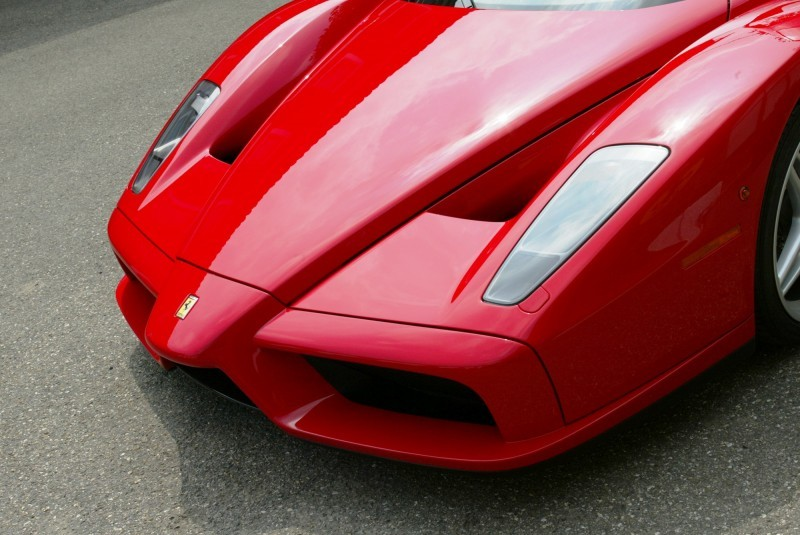 Car-Revs-Daily.com Hypercar Hall of Fame - 2003 Enzo Ferrari in 77 Original Maranello Launch Photos 24