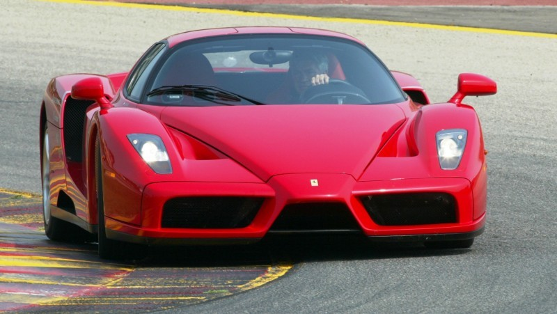 Car-Revs-Daily.com Hypercar Hall of Fame - 2003 Enzo Ferrari in 77 Original Maranello Launch Photos 25
