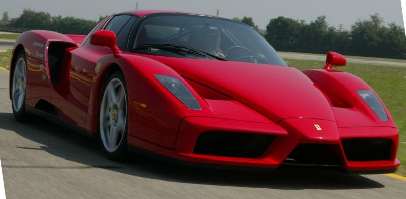 Car-Revs-Daily.com Hypercar Hall of Fame - 2003 Enzo Ferrari in 77 Original Maranello Launch Photos 26