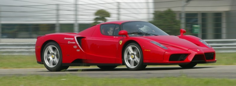 Car-Revs-Daily.com Hypercar Hall of Fame - 2003 Enzo Ferrari in 77 Original Maranello Launch Photos 27