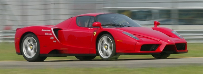 Car-Revs-Daily.com Hypercar Hall of Fame - 2003 Enzo Ferrari in 77 Original Maranello Launch Photos 28