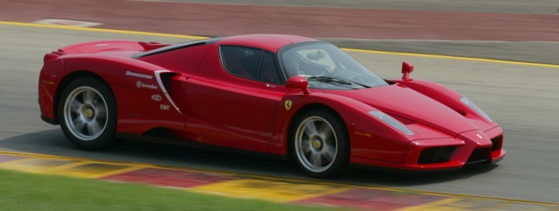 Car-Revs-Daily.com Hypercar Hall of Fame - 2003 Enzo Ferrari in 77 Original Maranello Launch Photos 29