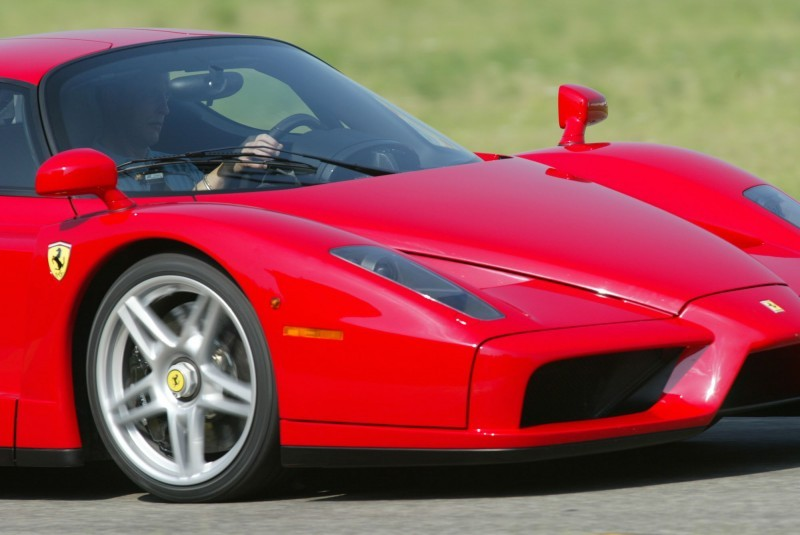 Car-Revs-Daily.com Hypercar Hall of Fame - 2003 Enzo Ferrari in 77 Original Maranello Launch Photos 32