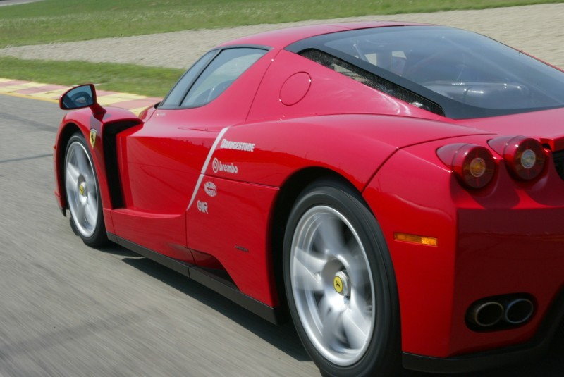 Car-Revs-Daily.com Hypercar Hall of Fame - 2003 Enzo Ferrari in 77 Original Maranello Launch Photos 33