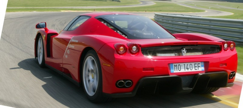Car-Revs-Daily.com Hypercar Hall of Fame - 2003 Enzo Ferrari in 77 Original Maranello Launch Photos 34