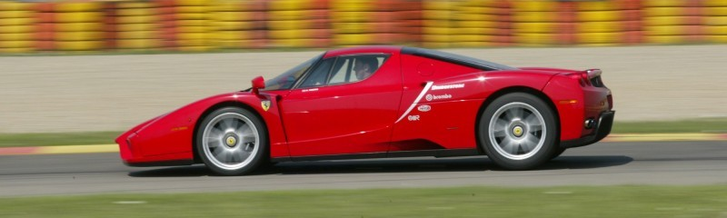Car-Revs-Daily.com Hypercar Hall of Fame - 2003 Enzo Ferrari in 77 Original Maranello Launch Photos 36