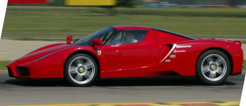 Car-Revs-Daily.com Hypercar Hall of Fame - 2003 Enzo Ferrari in 77 Original Maranello Launch Photos 37