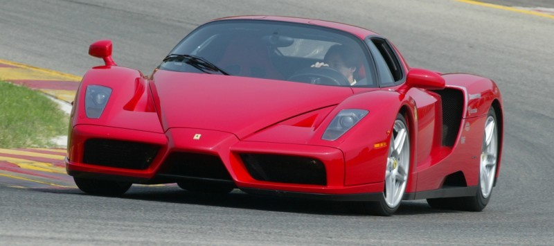 Car-Revs-Daily.com Hypercar Hall of Fame - 2003 Enzo Ferrari in 77 Original Maranello Launch Photos 39