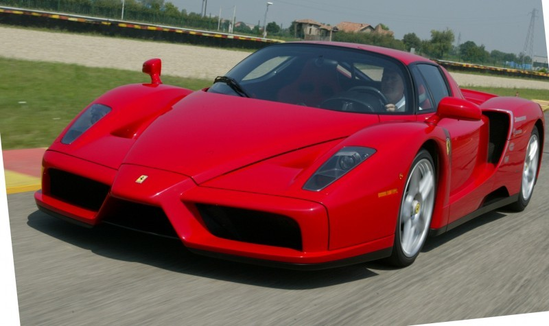 Car-Revs-Daily.com Hypercar Hall of Fame - 2003 Enzo Ferrari in 77 Original Maranello Launch Photos 40