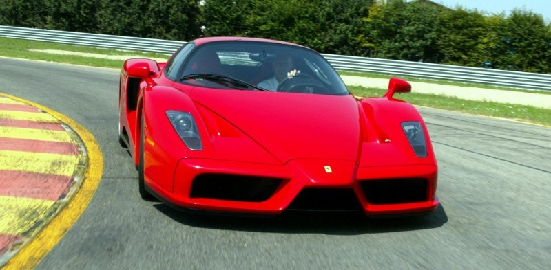 Car-Revs-Daily.com Hypercar Hall of Fame - 2003 Enzo Ferrari in 77 Original Maranello Launch Photos 42