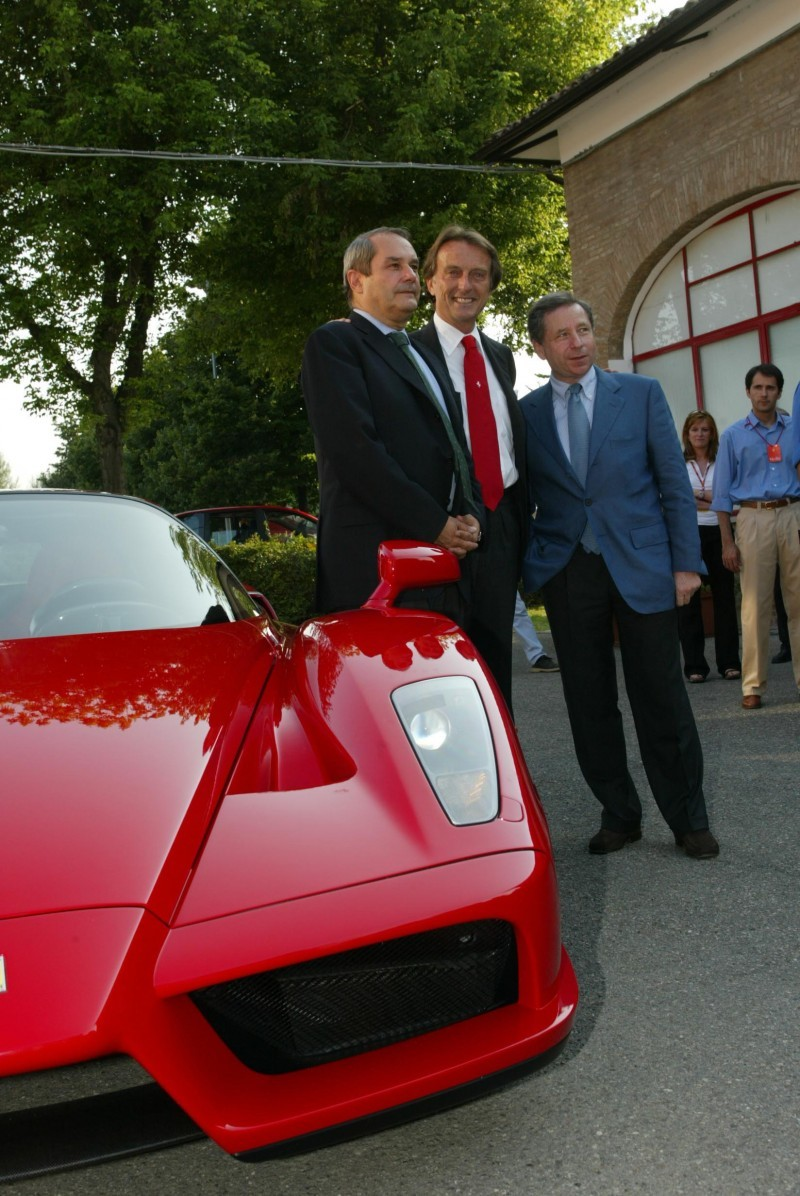 Car-Revs-Daily.com Hypercar Hall of Fame - 2003 Enzo Ferrari in 77 Original Maranello Launch Photos 43