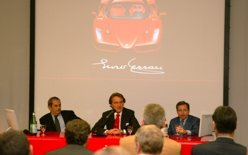 Car-Revs-Daily.com Hypercar Hall of Fame - 2003 Enzo Ferrari in 77 Original Maranello Launch Photos 45