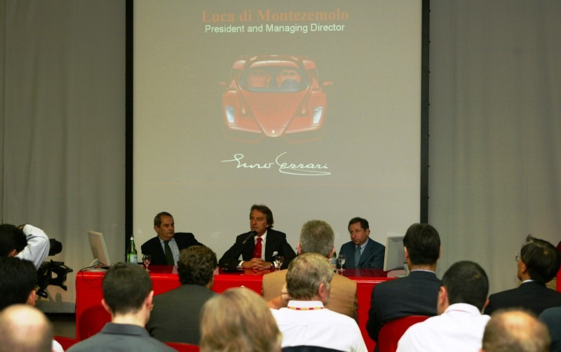 Car-Revs-Daily.com Hypercar Hall of Fame - 2003 Enzo Ferrari in 77 Original Maranello Launch Photos 46