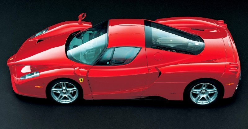 Car-Revs-Daily.com Hypercar Hall of Fame - 2003 Enzo Ferrari in 77 Original Maranello Launch Photos 49