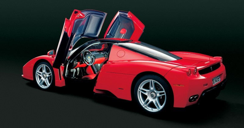 Car-Revs-Daily.com Hypercar Hall of Fame - 2003 Enzo Ferrari in 77 Original Maranello Launch Photos 53