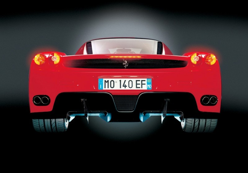 Car-Revs-Daily.com Hypercar Hall of Fame - 2003 Enzo Ferrari in 77 Original Maranello Launch Photos 58