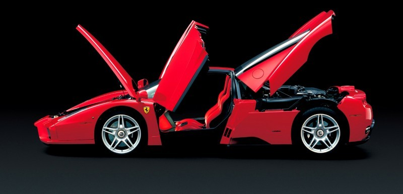 Car-Revs-Daily.com Hypercar Hall of Fame - 2003 Enzo Ferrari in 77 Original Maranello Launch Photos 66