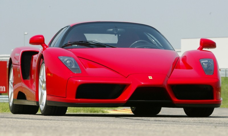 Car-Revs-Daily.com Hypercar Hall of Fame - 2003 Enzo Ferrari in 77 Original Maranello Launch Photos 7