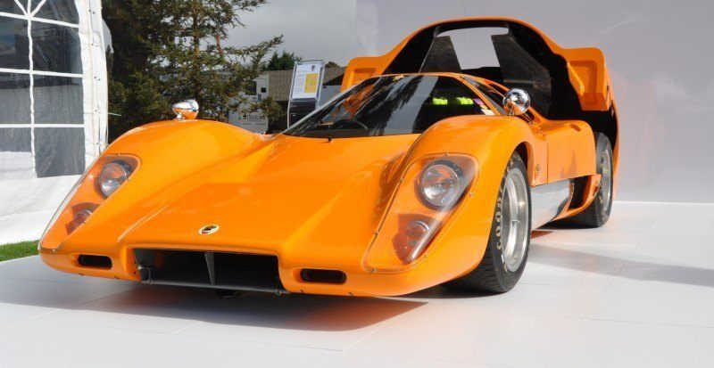 Car-Revs-Daily.com Hypercar Icons - 1969 McLaren M6B GT with 2014 McLaren 650S at The Quail  1