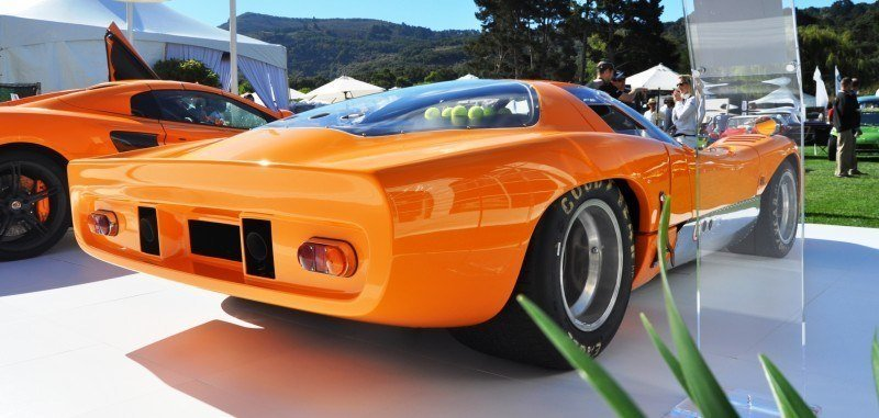 Car-Revs-Daily.com Hypercar Icons - 1969 McLaren M6B GT with 2014 McLaren 650S at The Quail  16