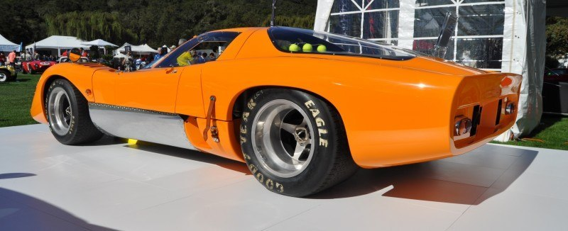 Car-Revs-Daily.com Hypercar Icons - 1969 McLaren M6B GT with 2014 McLaren 650S at The Quail  21