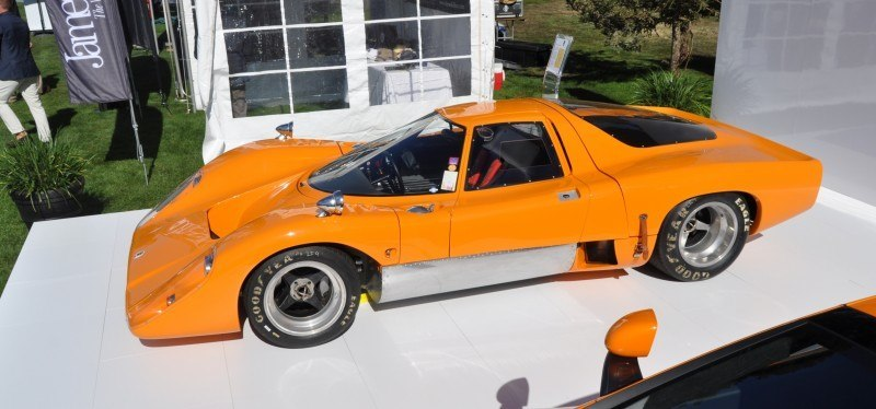 Car-Revs-Daily.com Hypercar Icons - 1969 McLaren M6B GT with 2014 McLaren 650S at The Quail  25