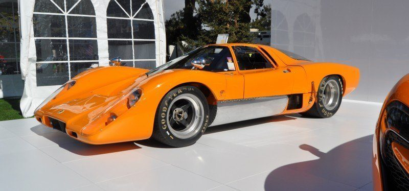 Car-Revs-Daily.com Hypercar Icons - 1969 McLaren M6B GT with 2014 McLaren 650S at The Quail  27