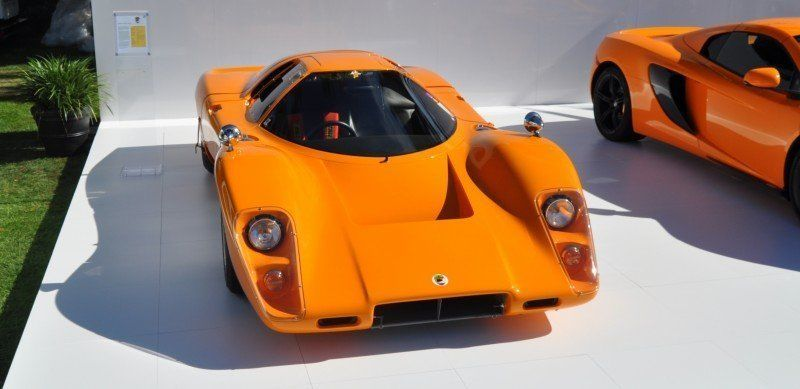 Car-Revs-Daily.com Hypercar Icons - 1969 McLaren M6B GT with 2014 McLaren 650S at The Quail  32