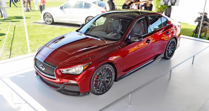Car-Revs-Daily.com INFINITI Q50 Eau Rouge in 40 New Photos From Pebble Beach  11