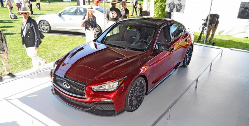 Car-Revs-Daily.com INFINITI Q50 Eau Rouge in 40 New Photos From Pebble Beach  12