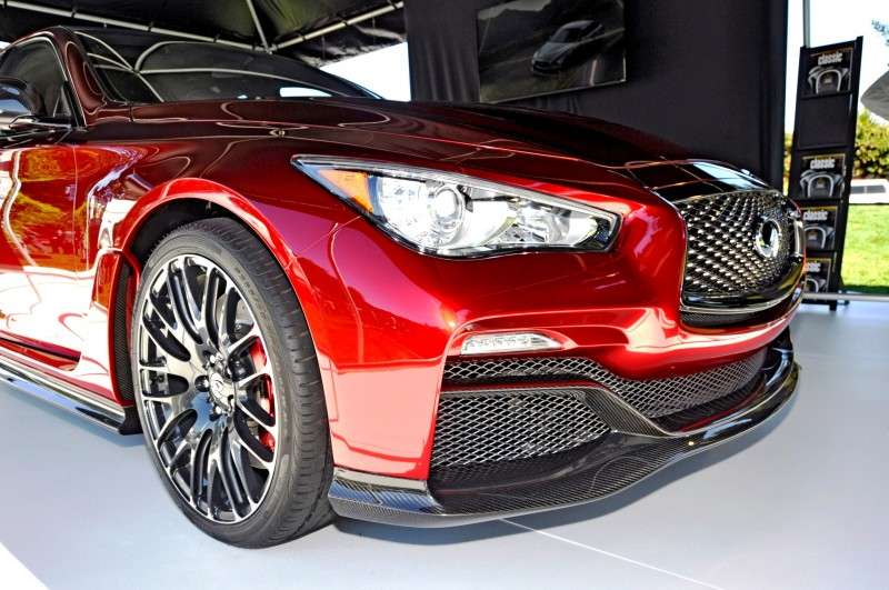Car-Revs-Daily.com INFINITI Q50 Eau Rouge in 40 New Photos From Pebble Beach  15