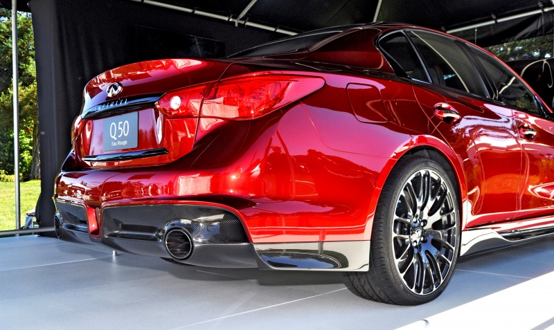 Car-Revs-Daily.com INFINITI Q50 Eau Rouge in 40 New Photos From Pebble Beach  18