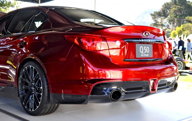 Car-Revs-Daily.com INFINITI Q50 Eau Rouge in 40 New Photos From Pebble Beach  22