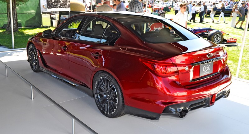 Car-Revs-Daily.com INFINITI Q50 Eau Rouge in 40 New Photos From Pebble Beach  34