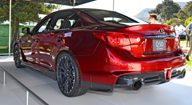 Car-Revs-Daily.com INFINITI Q50 Eau Rouge in 40 New Photos From Pebble Beach  35