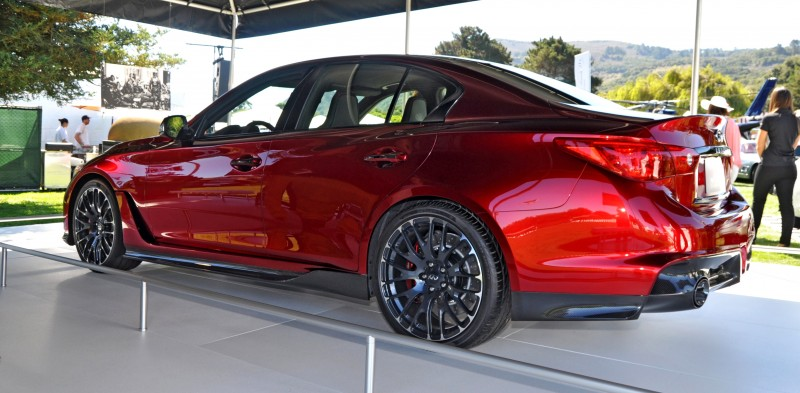 Car-Revs-Daily.com INFINITI Q50 Eau Rouge in 40 New Photos From Pebble Beach  36