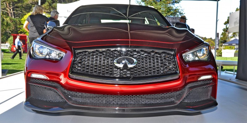 Car-Revs-Daily.com INFINITI Q50 Eau Rouge in 40 New Photos From Pebble Beach  4