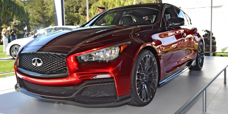 Car-Revs-Daily.com INFINITI Q50 Eau Rouge in 40 New Photos From Pebble Beach  6