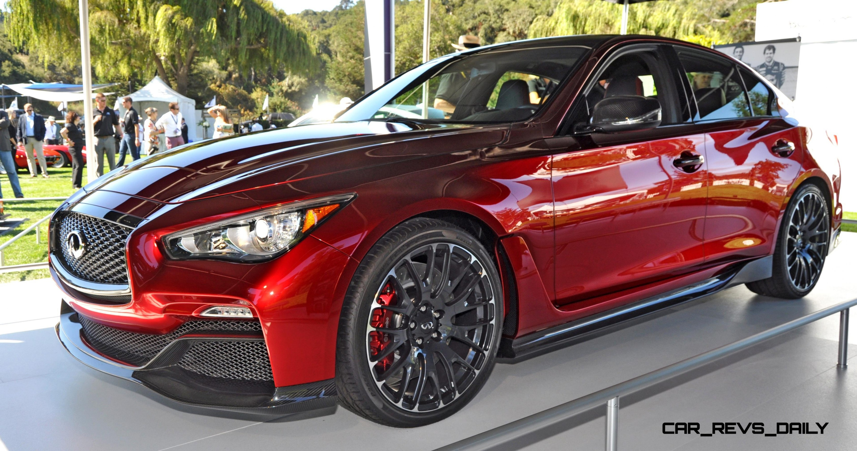 INFINITI Q50 Eau Rouge in 40 New Photos From Pebble Beach ...