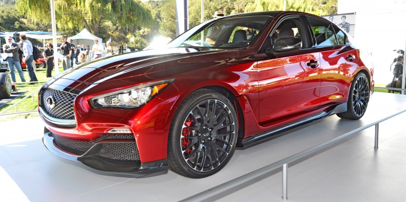 Car-Revs-Daily.com INFINITI Q50 Eau Rouge in 40 New Photos From Pebble Beach  8