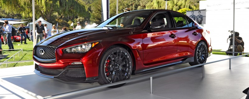Car-Revs-Daily.com INFINITI Q50 Eau Rouge in 40 New Photos From Pebble Beach  9