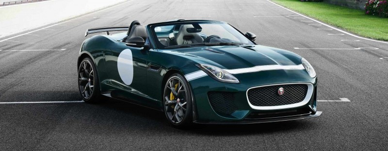 Car-Revs-Daily.com JAGUAR Special Operations F-TYPE Project 7 Speedster 1