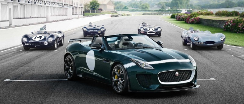 Car-Revs-Daily.com JAGUAR Special Operations F-TYPE Project 7 Speedster 2